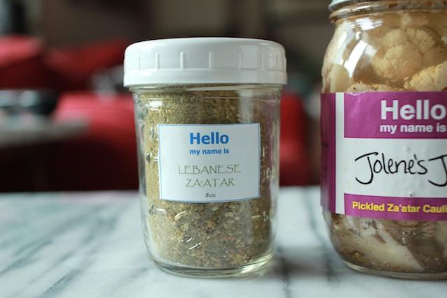 Jolene's Jars Za'atar
