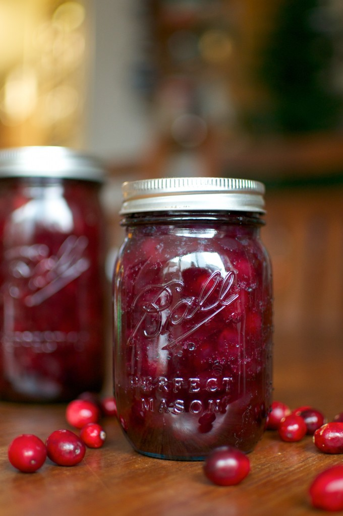 pickled cranberries pint