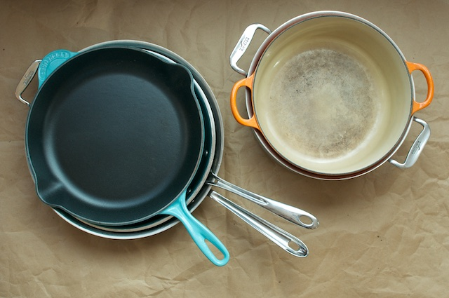 preserving pots and pans