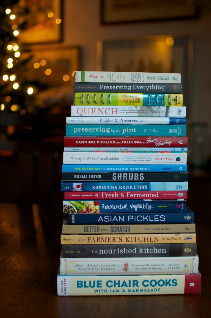 stack of 2014 preserving books high res