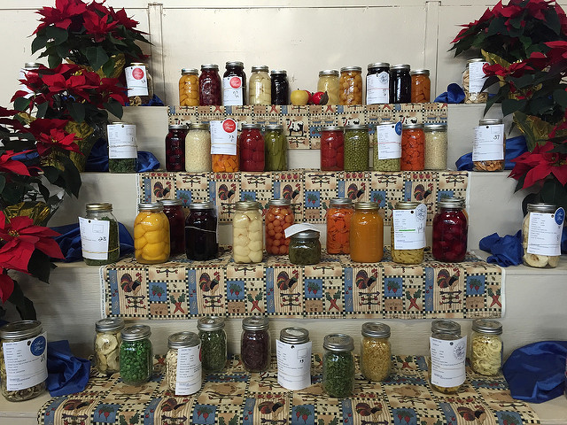 prize winning preserves at the PA Farm Show
