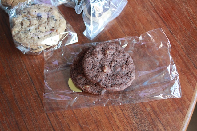 Christina's chocolate chocolate cookies