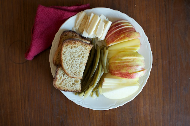 plate with napkin
