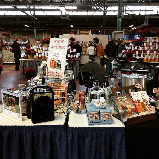 At the PA Farm Show with @fillmorejars! I'll be making dilly carrots at 1:30 pm!