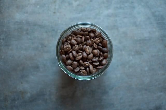 3 ounces coffee beans