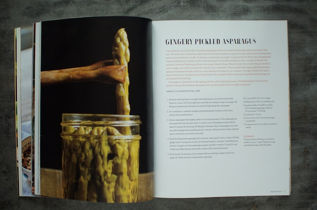 Gingery Pickled Asparagus