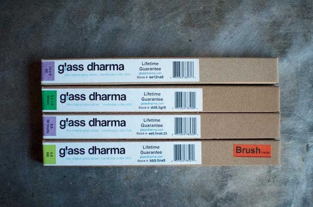 glass dharma boxes