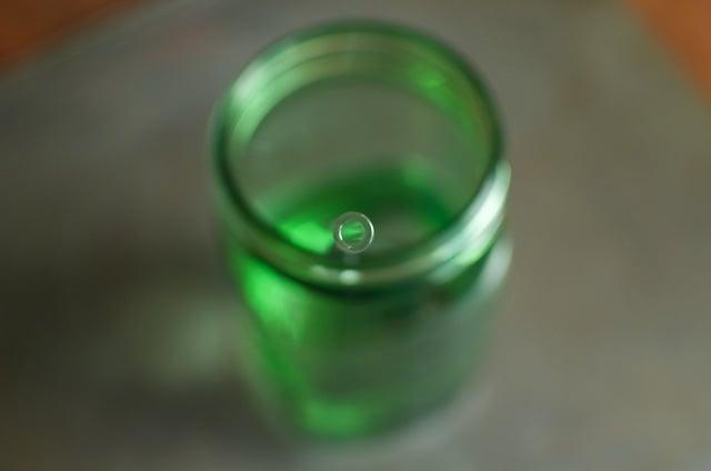glass dharma straw tip