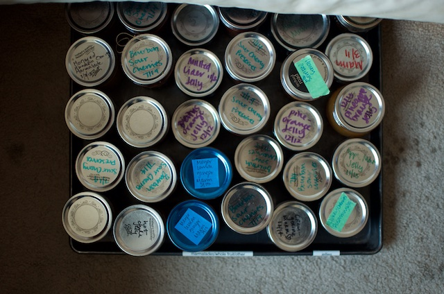 jars overhead