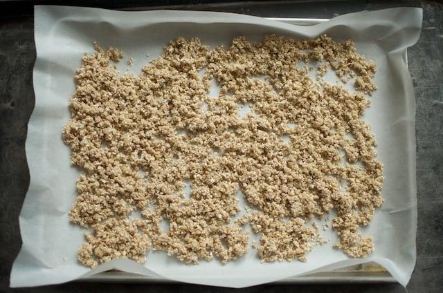 nutmeg crunch unbaked
