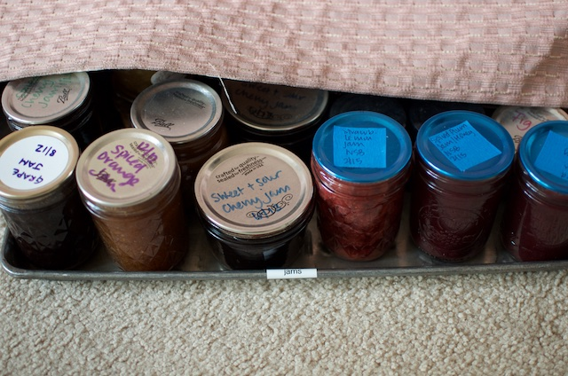 sheet of jams
