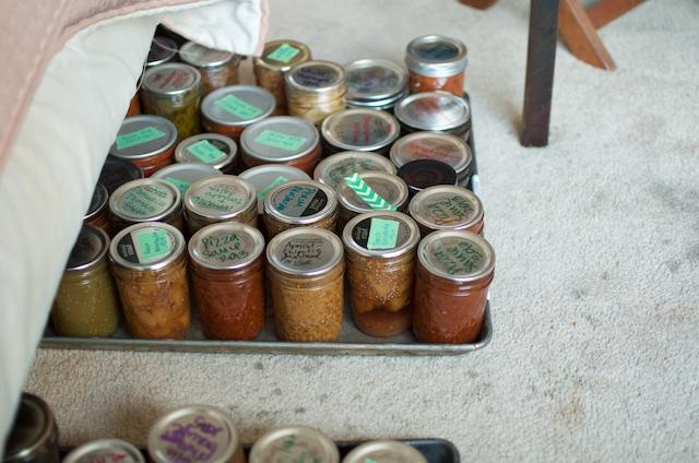 sheets of jars