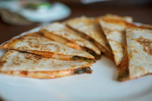 side of quesadilla
