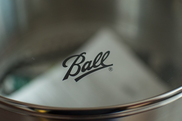 Ball logo on the FreshTECH Electric Water Bath Canner.