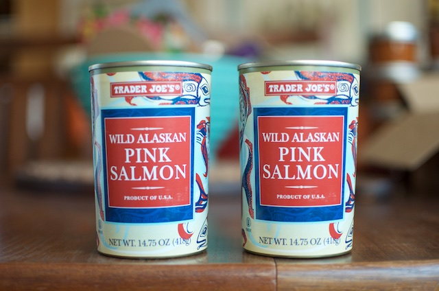 cans of salmon