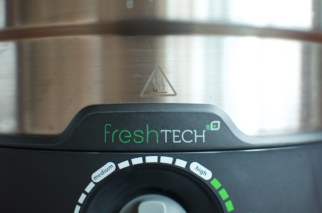 Ball FreshTECH Electric Water Bath Canner dial close-up