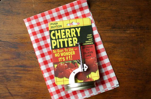 jar cherry pitter
