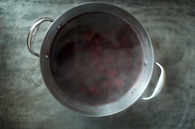 steaming kompot