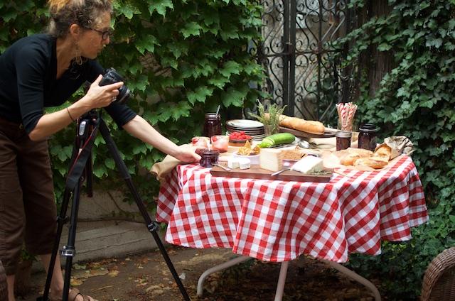 tenaya shooting the table