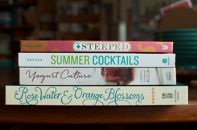 four cookbooks July 2015