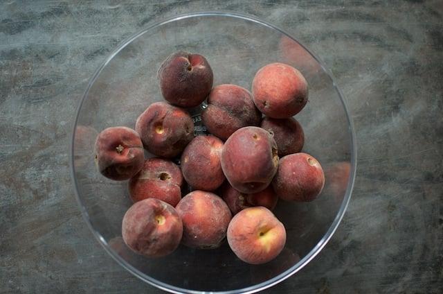 four pounds peaches
