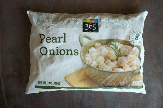 frozen pearl onions