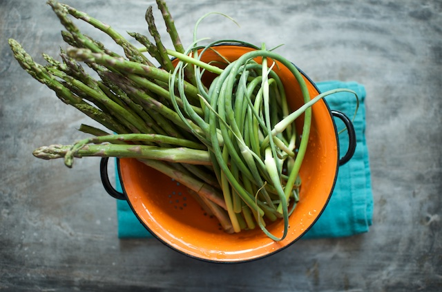 scapes and asparagus