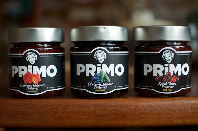 three jars of Primo
