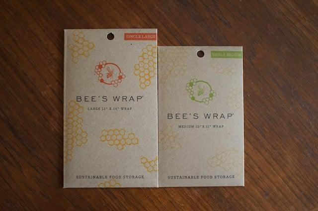 Bee's Wrap side by side