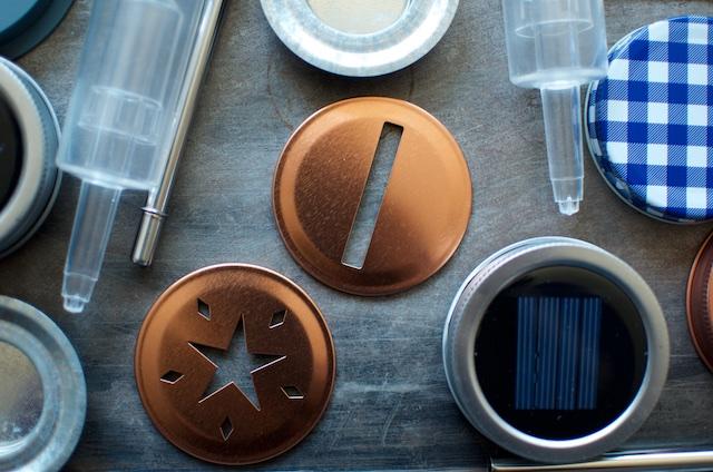 mason jar lids with designs