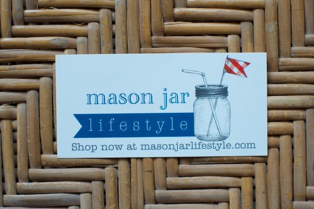 mason jar lifestyle sticker