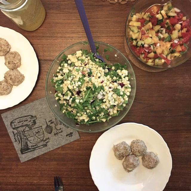 salad trio dinner