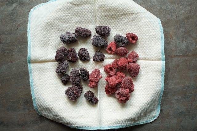 berries to defrost