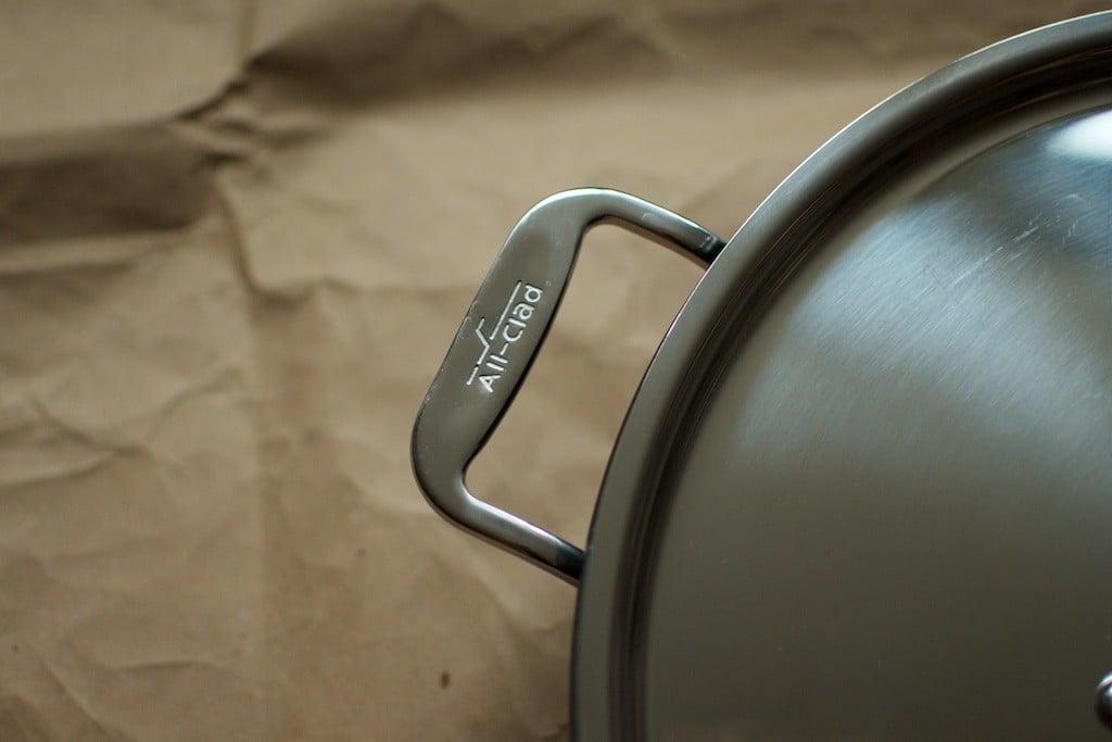 All-Clad handle - Food in Jars