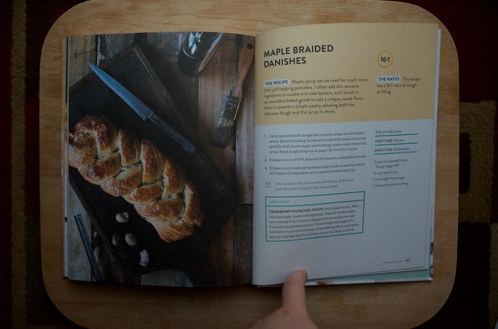 Making Dough Maple Danish - Food in Jars