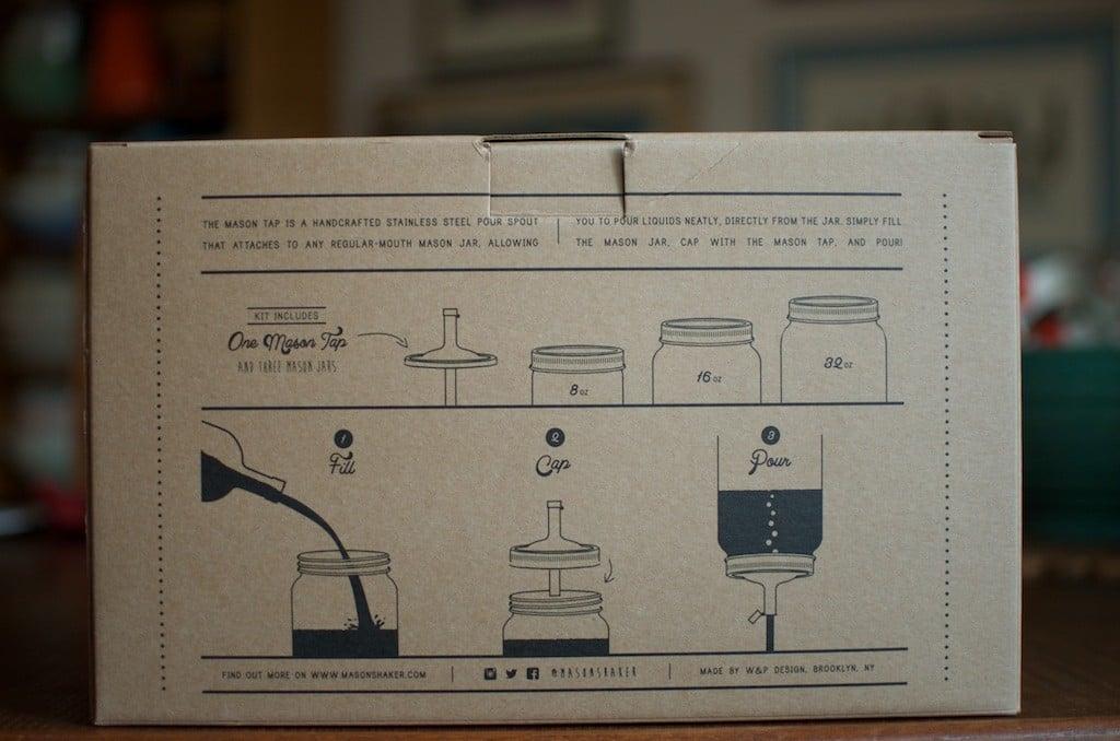Mason Tap Kit Art - Food in Jars