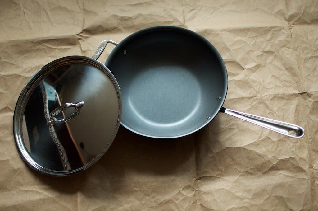 interior of All-Clad pot - Food in Jars