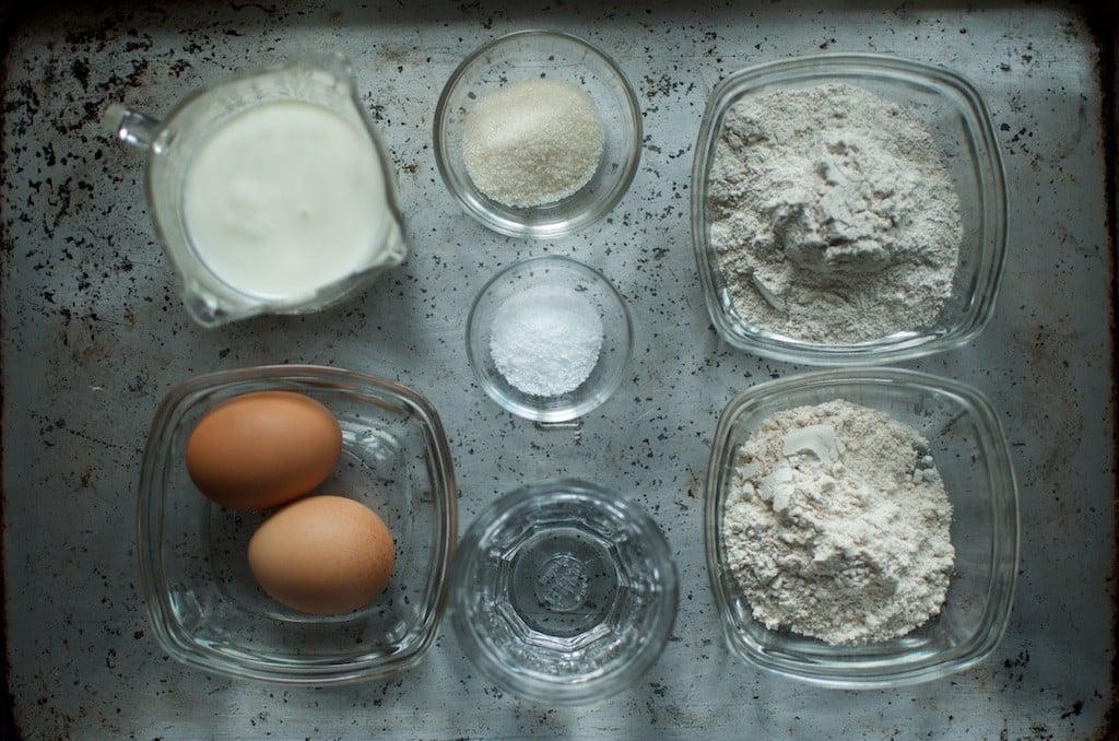 rye crepe ingredients