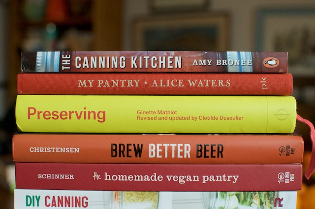 2015 Books One - Food in Jars