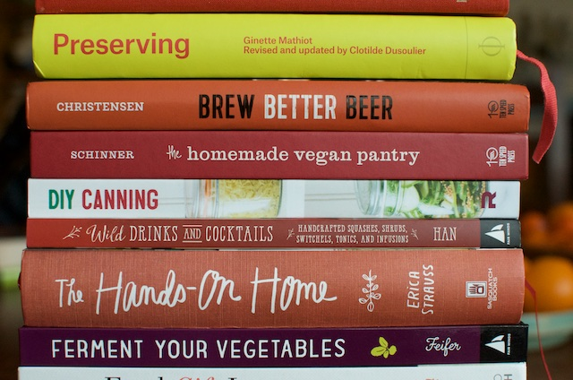 2015 Books Two - Food in Jars
