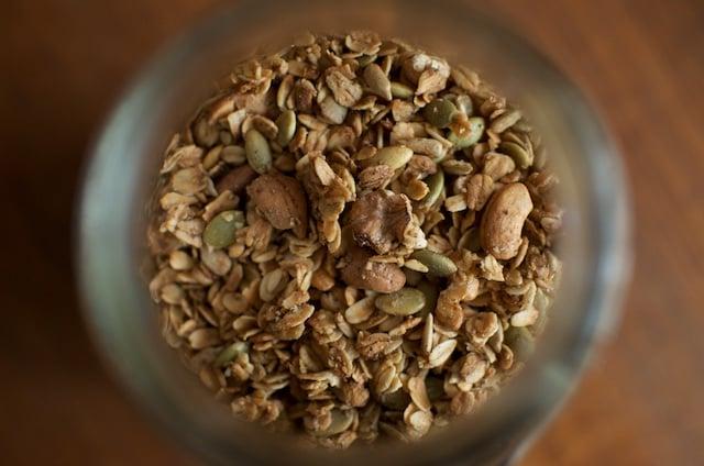 Granola in Jar Top - Food in Jars