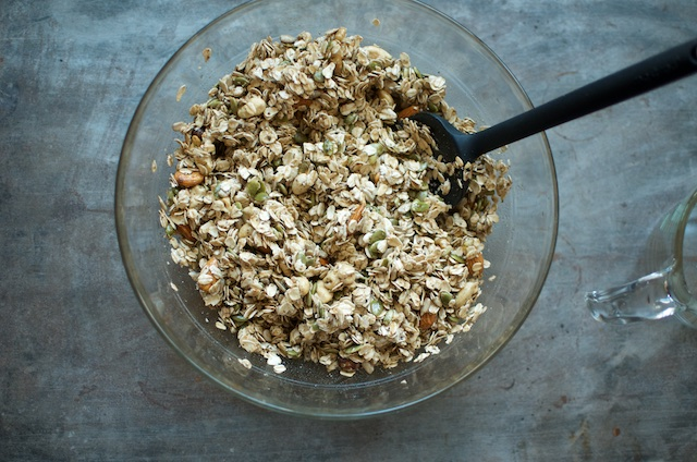 Mixed Raw Granola - Food in Jars