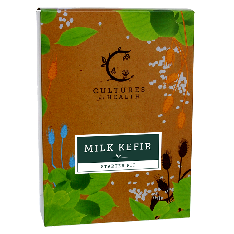 Milk Kefir Kit Front