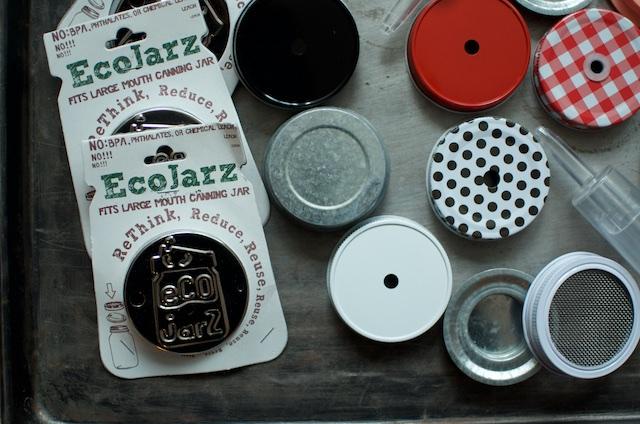 assorted mason jar accessories 2 - Food in Jars