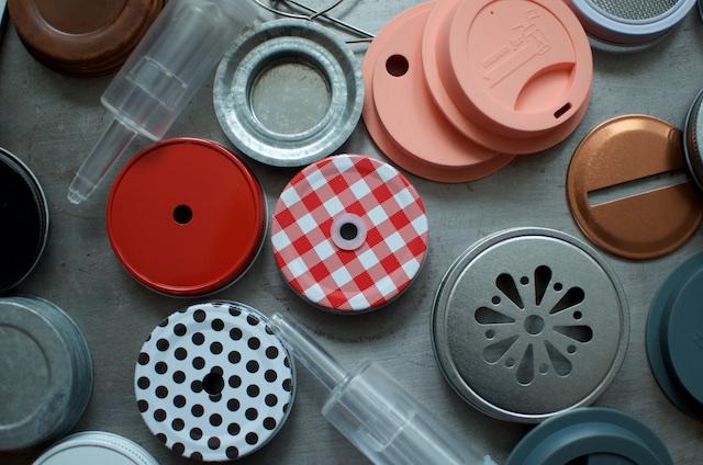 assorted mason jar accessories 3 - Food in Jars
