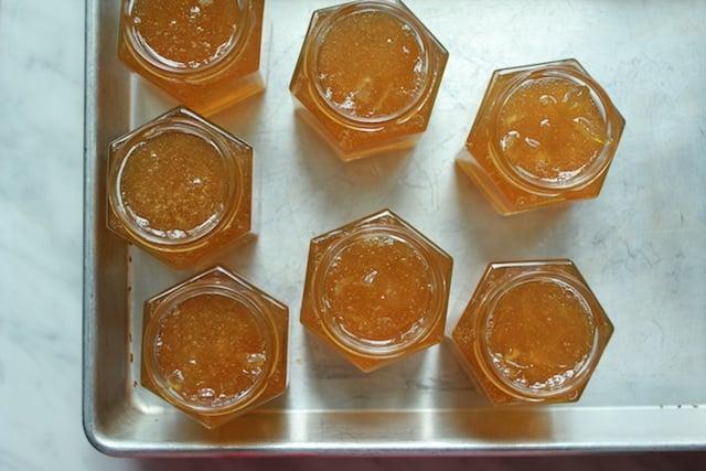 lime marm in jars