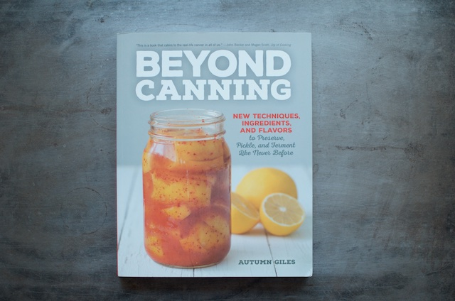 Beyond Canning Cover - Food in Jars