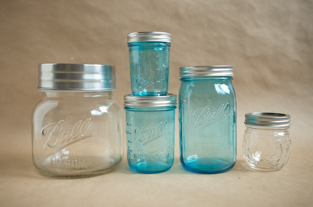 New Ball Jars - Food in Jars