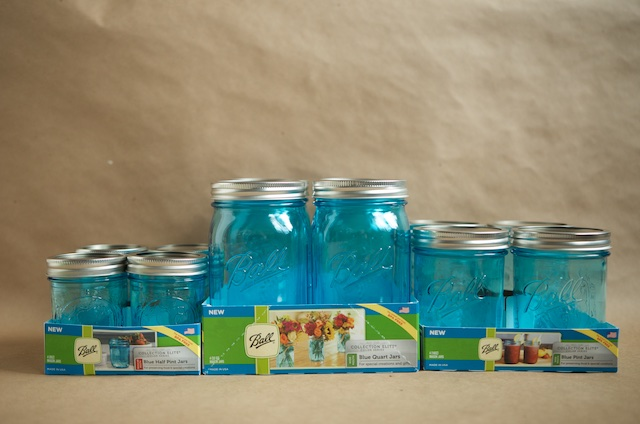 New Blue Jars from Ball - Food in Jars