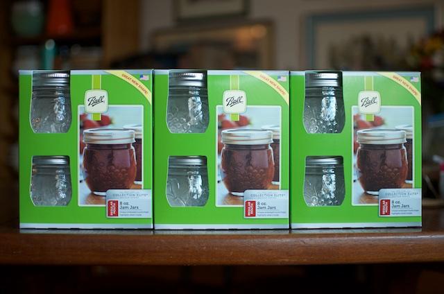Round Jam Jars Fillmore - Food in Jars
